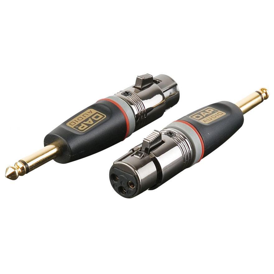 DAP-Audio - XGA23 - XLR/F 3p. > Jack/M mono - Adapters