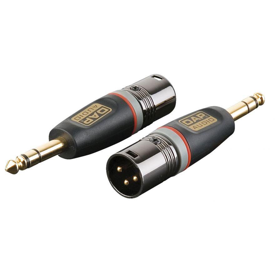 DAP-Audio - XGA28 - XLR/M 3p. > Jack/M stereo - Adapters