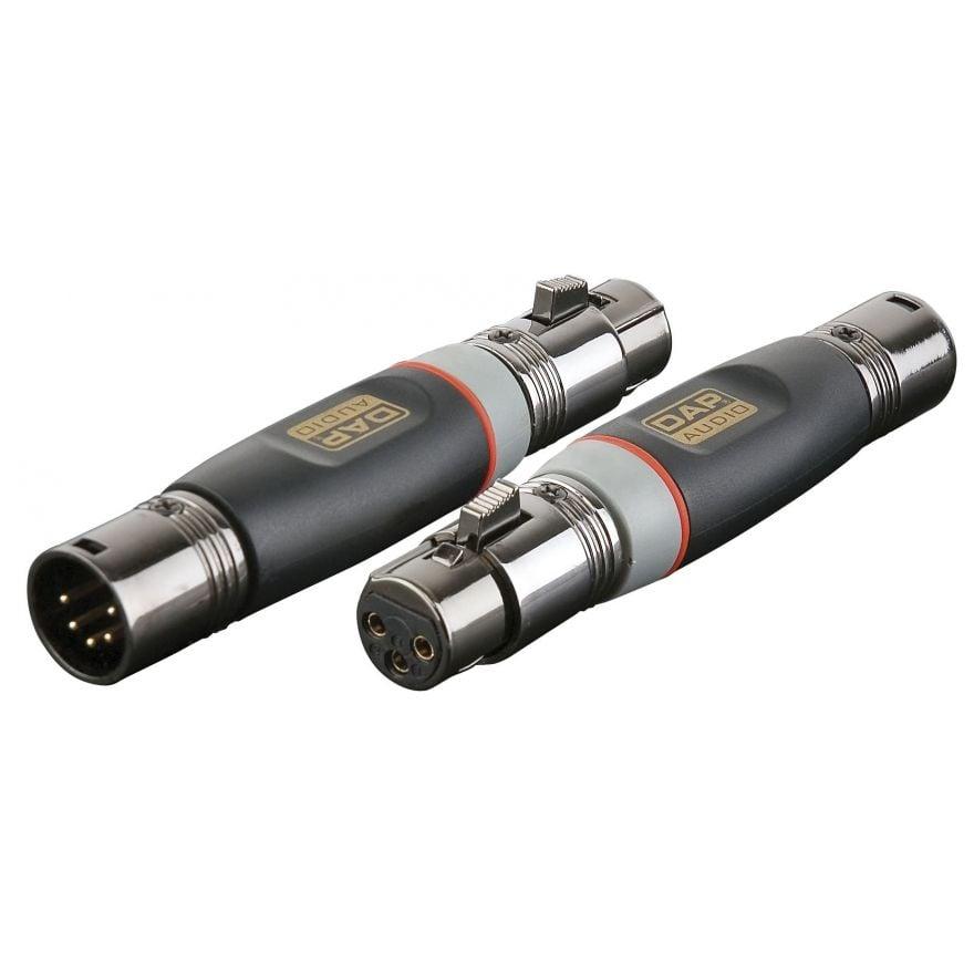 DAP-Audio - XGA29 - XLR/M 5p. > XLR/F 3p. - Adapters