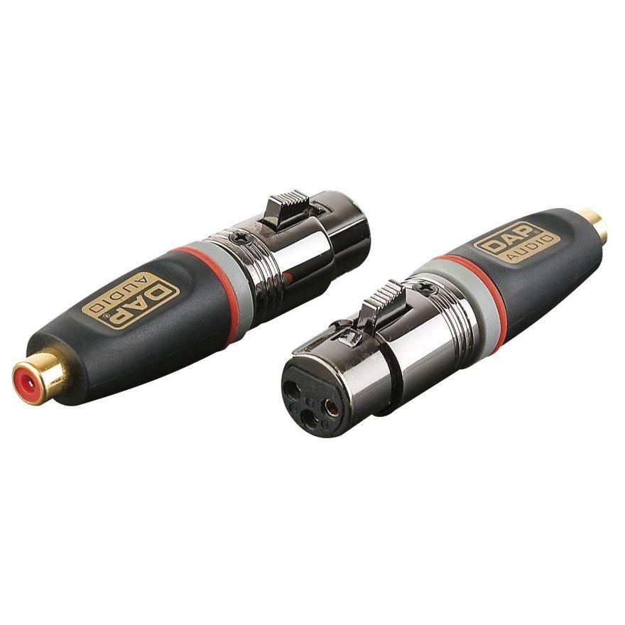 DAP-Audio - XGA33 - XLR/F 3p. > RCA/F - Adapters