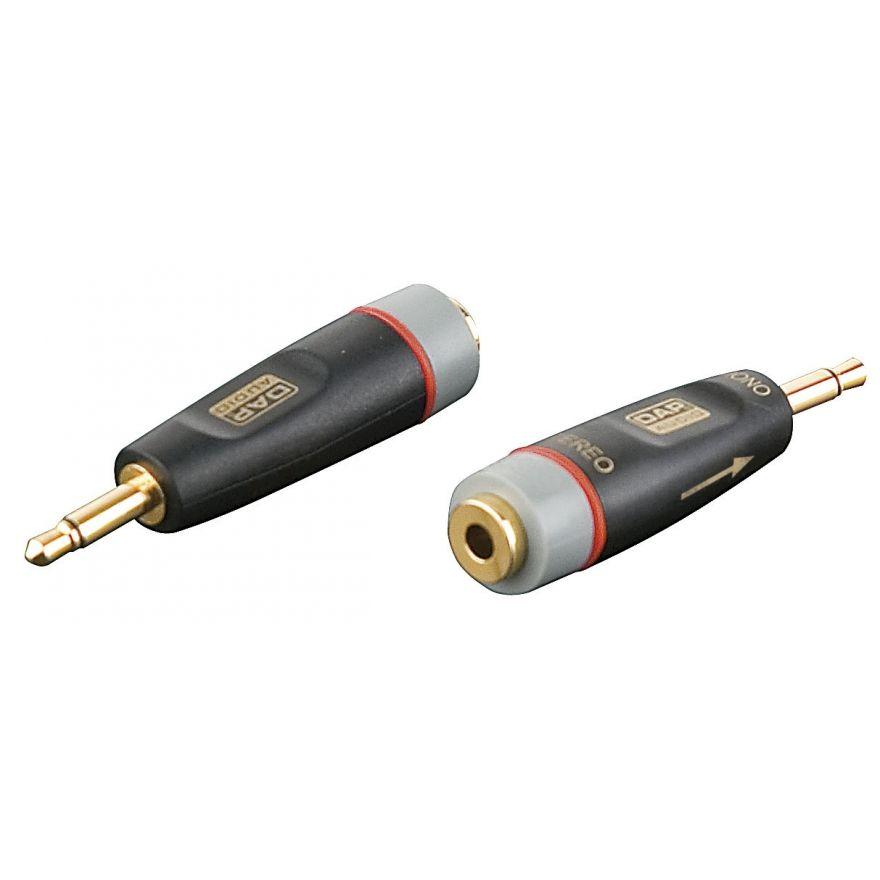 DAP-Audio - XGA43 - Mini Jack/M mono > Mini Jack/F - Inclusi 2 resistori da 10 kilo-Ohm