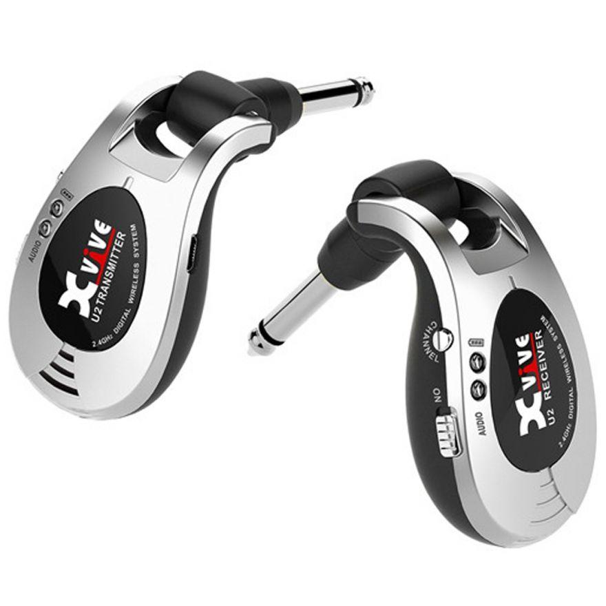 X Vive U2 Silver - Sistema Wireless per Chitarra/Basso