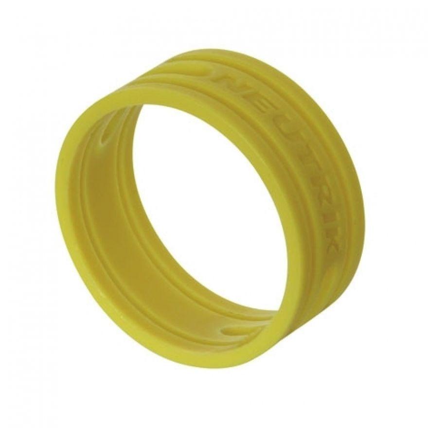 Neutrik - XX-Series coloured ring - giallo