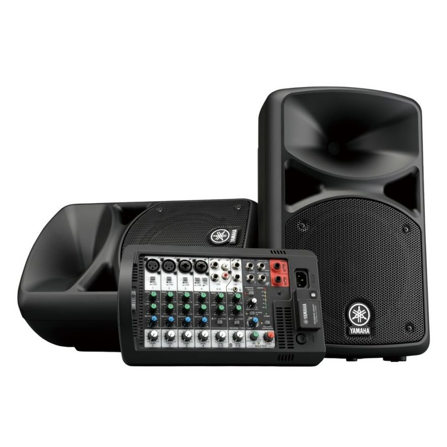 Yamaha Stagepas 400BT - Sistema Audio 400W con Mixer e Bluetooth