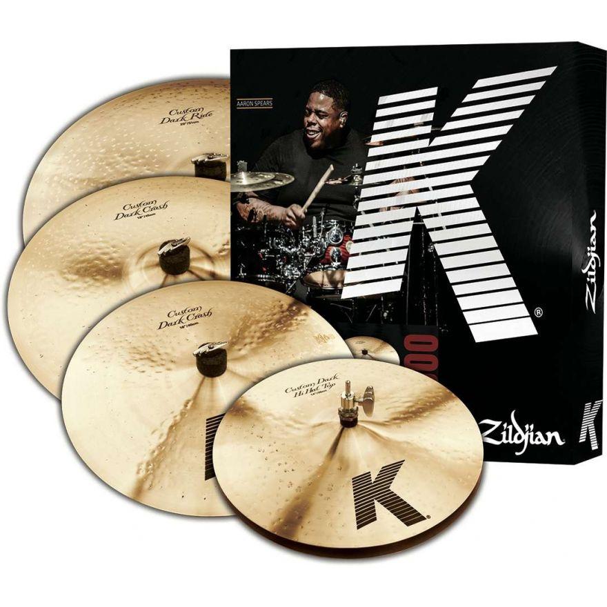 Zildjian 5 K Custom Dark - Set di Piatti per Batteria