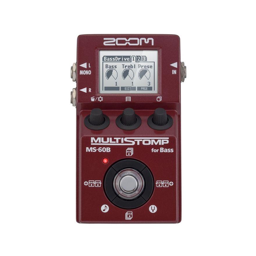 Zoom MS 60B - Pedale Multieffetto per Basso