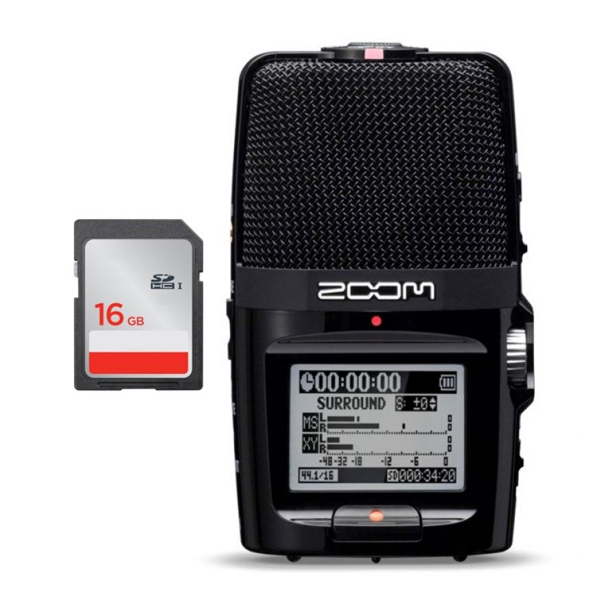 Zoom H2n - Registratore Digitale con Scheda SD