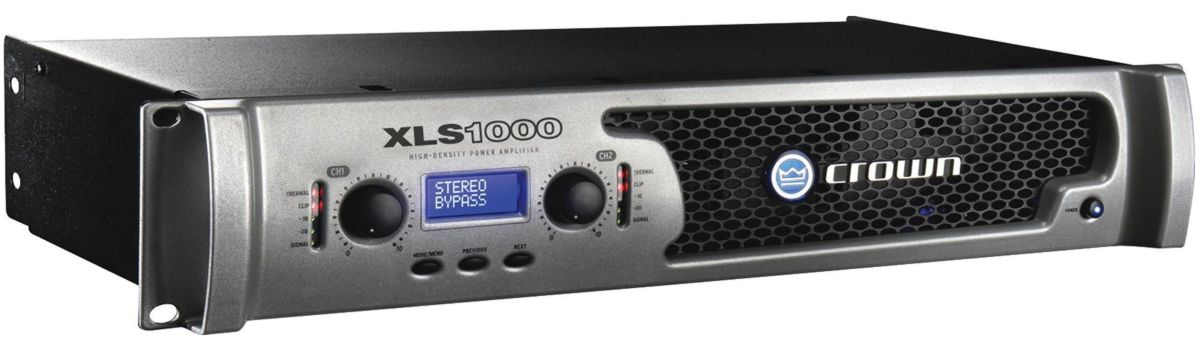 CROWN XLS1000 - AMPLIFICATORE 700W 4 OHM
