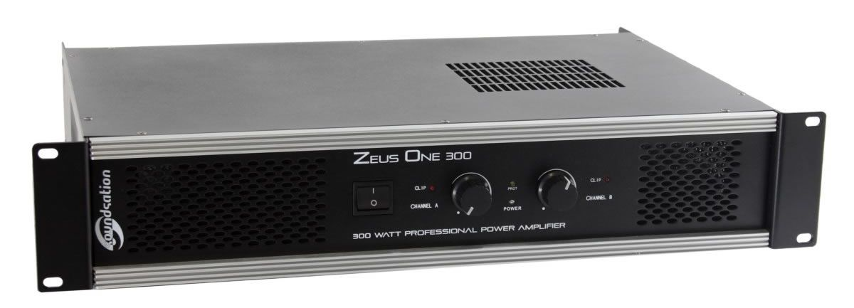 SOUNDSATION ZEUS1-300 - Finale di potenza 300 W