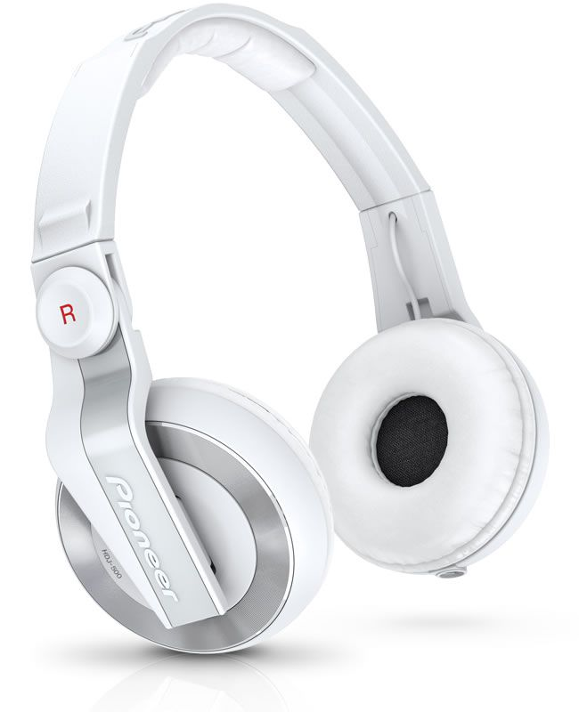 PIONEER HDJ500 W White - CUFFIE PROFESSIONALI PER DJ