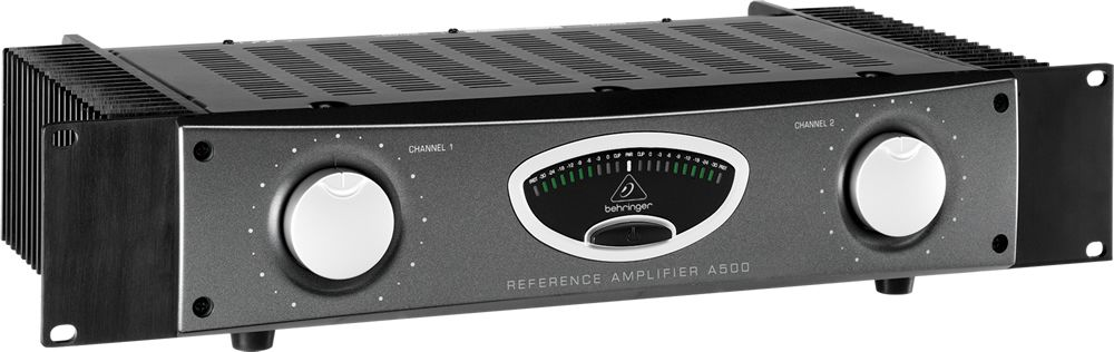 BEHRINGER A500 REFERENCE AMPLIFIER FINALE 2 X 230W 4 OHM