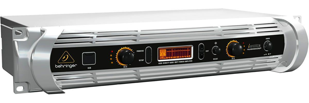 BEHRINGER iNUKE NU6000DSP -FINALE DI POTENZA 6000W CON DSP E USB