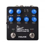 Nux NBP-5 Bass Preamp + DI Stompbox a Pedale