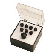 0 Martin & Co. - 18APP17 Set Pin Ebano, No Inlay