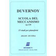 BERBEN Duvernoy - SCUOLA DEL MECCANISMO OP.120