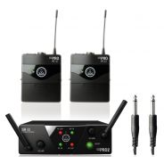 AKG WMS40 Pro Mini 2 Dual Instrumental Set - Sistema Wireless per Strumenti
