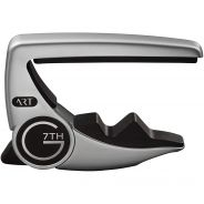 0 G7TH - Performance 3 ART 6 Steel Strings Silver Capo