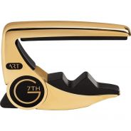G7TH - Performance 3 ART 6 Steel Strings 18kt Gold Plated Capo