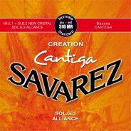 0 Savarez - Creation Cantiga 510MR Tensione normale, set