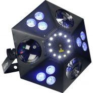 Algam Lighting - THANOS Proiettore Par LED Multieffetto DMX
