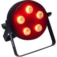 Algam Lighting - SLIMPAR-510-QUAD Proiettore Par LED 5 x 10W RGBW