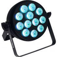 Algam Lighting - SLIMPAR-1210-QUAD Proiettore Par LED 12 x 10W RGBW