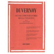 Ricordi JB. Duvernoy Scuola Preparatoria della Velocità Op. 276