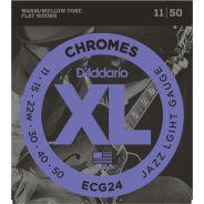 D'Addario ECG24 - Muta Corde Jazz Light per Elettrica (011-050)