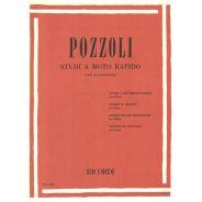 Ricordi Pozzoli Ettore Studi a Moto Rapido per Pianoforte