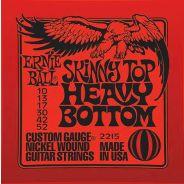Ernie Ball 2215 Muta per Chitarra Elettrica Skinny Top Heavy Bottom (10-52)