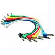 ROCKCABLE RCL 30011 D5 - Patch Cable, plug ad angolo 15cm (6pz)