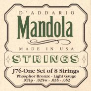 D'ADDARIO J76 - MUTA CORDE PER MANDOLINO (015P-052)