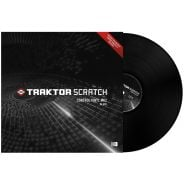 Native Instruments Vinile Time Code Nero MK2 MKII per Traktor Scratch