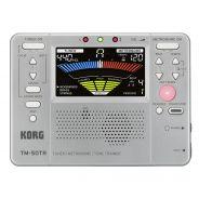 0 Korg - TM-50TR Accordatore/Metronomo/Tone Trainer - Silver