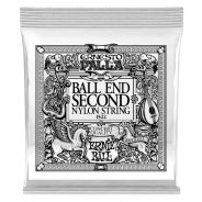 0 Ernie Ball - 1522 Ernesto Palla Black 2ª Ball End .032 - 6 Pezzi