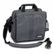 0 UDG - Ultimate CourierBag DeLuxe Steel Grey, Orange inside