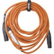 0 ORANGE - Twister Cable Mic 6m XLR