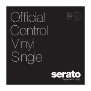 SERATO 12 Serato Standard Colors BLACK (Singolo) - Edizione single di Black 12