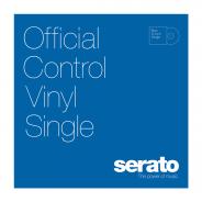 SERATO 12 Serato Standard Colors BLUE (Singolo) - Edizione single di Blue 12 Serato