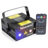 BeamZ bianca double laser rgb gobo irc
