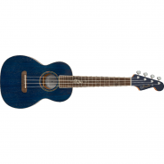 FENDER Dhani Harrison Uke Walnut Fingerboard Sapphire Blue