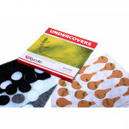 Rycote Undercovers, Mix Colours - 25 Packs X 30 Undercovers/30 Stickies Original