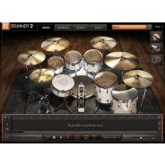 TOONTRACK EZD2-120 VSTi per PC & Mac - Batterie acustiche con gestione microfonatura, ottimizzato per ridurre uso di RAM e CPU