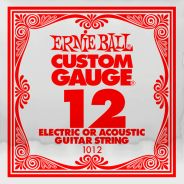 ERNIE BALL 1012 - Singola per Acustica o Elettrica Custom-Gauge 012