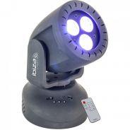 0 Ibiza TWIRLY-WASH8 Mini Moving Head Wash 3x 8W RGBW 4-in-1