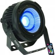 0 Ibiza PARLED50-COB Par Can with RGBWA COB LED 5-in-1 50W