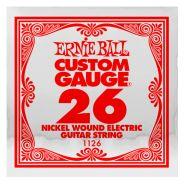ERNIE BALL 1126 - Singola per Elettrica Custom-Gauge (026)