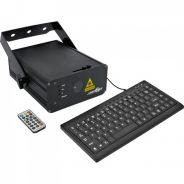 0 Laserworld EL-500RGB KeyTEX Ecoline Series - Total Power typical: 490 mW