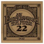 ERNIE BALL 1422 - Singola per Acustica Earthwood 80/20 Bronze (022)
