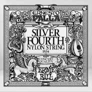 ERNIE BALL 1534 - Singola per Chitarra Classica Silver 4th (030)